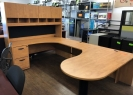 Used U-Shaped Desks
