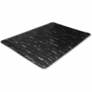 Marble Top Anti Fatigue Mat 3x5 Black