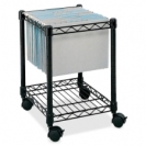 Safco� Compact Mobile File Cart