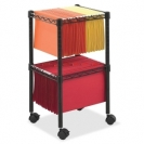 Safco 2 Tier Compact File Cart