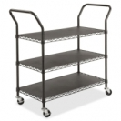 Wire Utility Cart - 3 Shelf