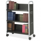Scoot 3 Shelf Book Cart