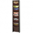 12 Pocket Wall Mount Literature Wooden Display