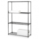 Modular Steel Shelving Unit 36 x 18 - Black