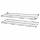Chrome Shelves for 36Wx24D