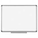 MasterVision Earth Platinum Pure White Porcelain Dry Erase Board