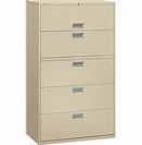 Hon Brigade 600 Series 5 Drawer