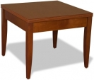 Corner Table with wood legs- veneer