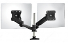 Triple-Pivot Dual LCD Arm