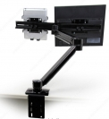 Xtend Dual Monitor Arm - Black
