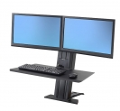 WorkFit-SR Short Surface Dual Monitor