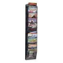 10-pocket Onyx Mesh Literature Rack