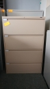 Global 4 Drawer Lateral File, Putty