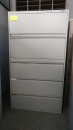 Global 5 Drawer Lateral, Grey