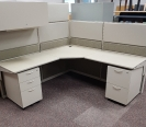 Teknion Beige Cubicles