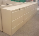Beige 3 Drawer Laterals