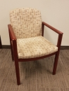 Used Mahogany Wood Client Chairs