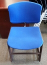 Used blue Stacking Chair