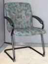 Used Floral Guest Chair