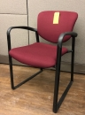 Haworth Maroon Guest Chair