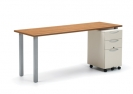 Table Desk & Pedestal