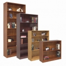 DSI Modern Enhanced Bookcases - 12 inch depth