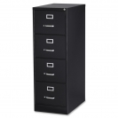 Lorell Fortess Vertical 4 Drawer (Letter)