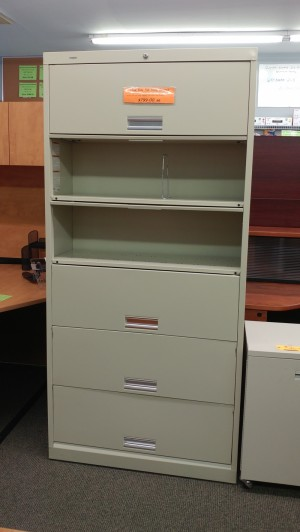 Used Side Tab Filing Cabinet