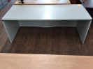 Used Six Foot Straight Desk Shell - Grey