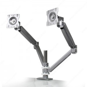Dual-Monitor, Double-Extension Arms